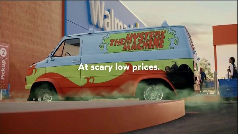 Walmart Grocery Pickup TV Commercial, 'Famous Cars: Mystery Machine' - Video
