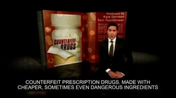 Partnership for Safe Medicines TV Spot, 'Counterfeit Drugs' - Thumbnail 3