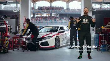 Honda Dream Garage Spring Event TV Spot, 'Racing Excitement' Featuring James Hinchcliffe [T2] - Thumbnail 1