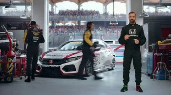 Honda Dream Garage Spring Event TV Spot, 'Racing Excitement' Featuring James Hinchcliffe [T2] - Thumbnail 2