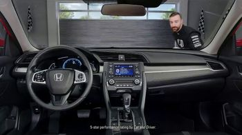 Honda Dream Garage Spring Event TV Spot, 'Racing Excitement' Featuring James Hinchcliffe [T2] - Thumbnail 5
