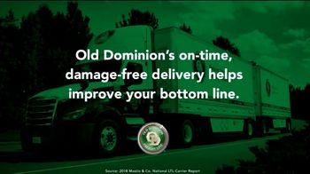 Old Dominion Freight Line TV Spot, 'On-Time, Damage-Free Delivery'
