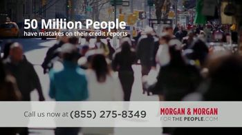 Morgan and Morgan Law Firm TV Spot, 'Credit Report Errors' - Thumbnail 4