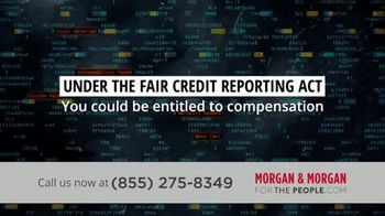Morgan and Morgan Law Firm TV Spot, 'Credit Report Errors' - Thumbnail 6