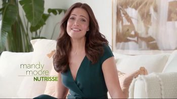 Garnier Nutrisse Nourishing Color Creme TV Spot, \'Mandy Moore Introduces 77 Nourishing Shades\'
