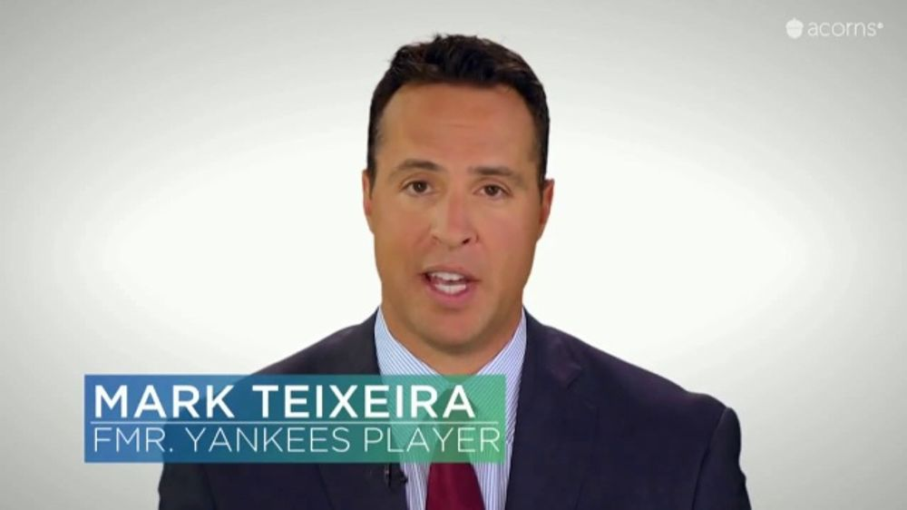 Acorns TV Commercial, 'CNBC: Winning Plan' Featuring Mark Teixeira