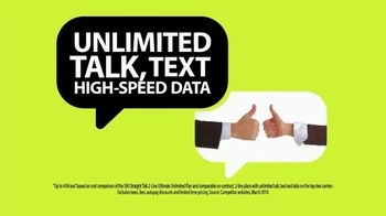 Straight Talk Wireless Ultimate Unlimited Plan TV Spot, 'Double Awesome' - Thumbnail 6