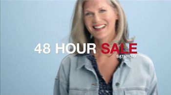 Macy's 48 Hour Sale TV Spot, 'Diamond Pendants, Sheets and Small Appliances' - Thumbnail 1