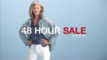 Macy's 48 Hour Sale TV Spot, 'Diamond Pendants, Sheets and Small Appliances'