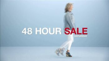 Macy's 48 Hour Sale TV Spot, 'Diamond Pendants, Sheets and Small Appliances' - Thumbnail 3