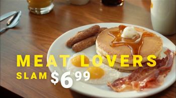 Denny's Meat Lovers Slam TV Spot, 'Favorite People' - Thumbnail 7