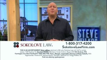 Sokolove Law TV Spot, 'Injured at Birth' Featuring Steve Wilkos