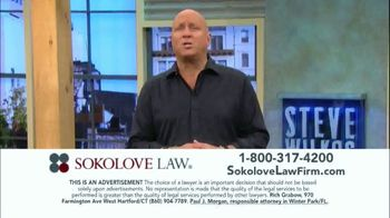 Sokolove Law TV Spot, 'Injured at Birth' Featuring Steve Wilkos - Thumbnail 4