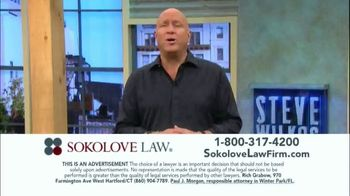 Sokolove Law TV Spot, 'Injured at Birth' Featuring Steve Wilkos - Thumbnail 5