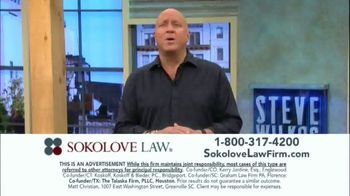 Sokolove Law TV Spot, 'Injured at Birth' Featuring Steve Wilkos - Thumbnail 7