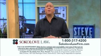 Sokolove Law TV Spot, 'Injured at Birth' Featuring Steve Wilkos - Thumbnail 8