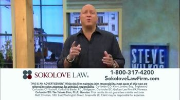 Sokolove Law TV Spot, 'Injured at Birth' Featuring Steve Wilkos - Thumbnail 9