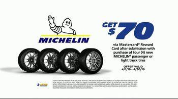 National Tire & Battery Big Brands Bonus Month TV Spot, 'Michelin Reward Card & Mobile Installation'