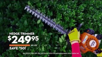 STIHL TV Spot, 'Real People: Hedge Trimmers & Yard Bosses' - Thumbnail 5