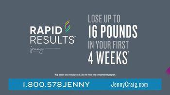 Jenny Craig Rapid Results TV Spot, 'Shiella: 20 Pounds' - Thumbnail 4