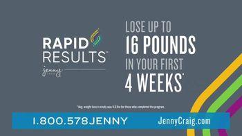 Jenny Craig Rapid Results TV Spot, 'Shiella: 20 Pounds' - Thumbnail 5