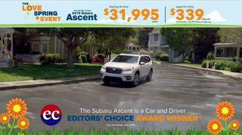 Subaru Love Spring Event TV Spot, 'Great Deal: 2019 Ascent' [T2] - Thumbnail 4