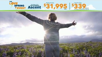 Subaru Love Spring Event TV Spot, 'Great Deal: 2019 Ascent' [T2] - Thumbnail 6