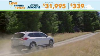 Subaru Love Spring Event TV Spot, 'Great Deal: 2019 Ascent' [T2] - Thumbnail 7