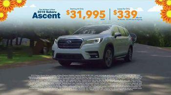 Subaru Love Spring Event TV Spot, 'Great Deal: 2019 Ascent' [T2] - Thumbnail 8