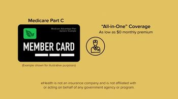 eHealthInsurance Services TV Spot, 'All-in-One Medicare Coverage' - Thumbnail 1