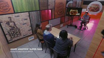 Burger King Angry Whopper TV Spot, 'Super Fans' - Thumbnail 1