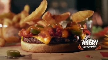 Burger King Angry Whopper TV Spot, 'Super Fans' - Thumbnail 4
