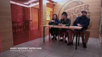 Burger King Angry Whopper TV Spot, 'Super Fans' - Thumbnail 5