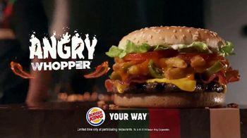 Burger King Angry Whopper TV Spot, 'Super Fans' - Thumbnail 9