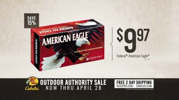 Bass Pro Shops Outdoor Authority Sale TV Spot, 'Ammo and Rifle Scope' - Thumbnail 6