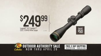 Bass Pro Shops Outdoor Authority Sale TV Spot, 'Ammo and Rifle Scope' - Thumbnail 7
