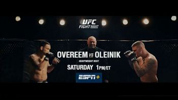 ESPN+ TV Spot, 'UFC Fight Night: Overeem vs. Oleinik' - Thumbnail 10