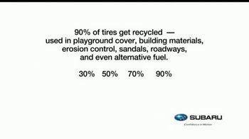 Subaru TV Spot, 'Recycling Tip: Tires' [T1] - Thumbnail 1