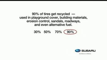 Subaru TV Spot, 'Recycling Tip: Tires' [T1] - Thumbnail 2