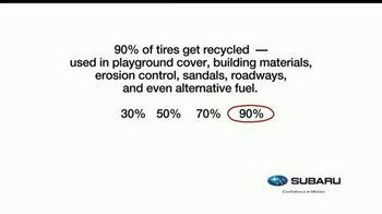 Subaru TV Spot, 'Recycling Tip: Tires' [T1] - Thumbnail 3