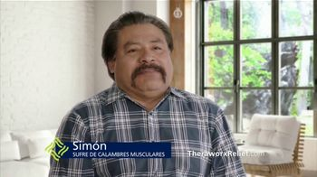 Theraworx Relief TV Spot, 'Simón: clambres musculares' [Spanish] - Thumbnail 2