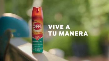 Off! FamilyCare Smooth & Dry TV Spot, 'Pasear al perro' [Spanish] - Thumbnail 8