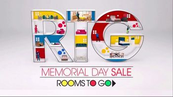 Rooms to Go Memorial Day Sale TV Spot, 'Perfect Time' Song by Portugal. The Man - Thumbnail 1