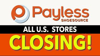 Payless Shoe Source TV Spot, 'Store Closing: 2019 Mother's Day'
