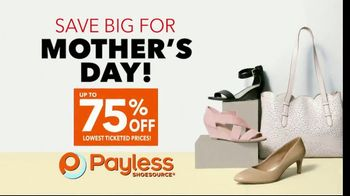 Payless Shoe Source TV Spot, 'Store Closing: Mother's Day' - Thumbnail 4