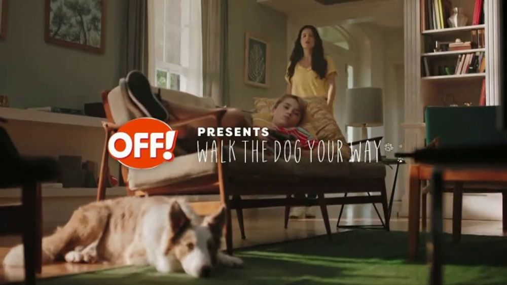 Off Familycare Smooth Amp Dry Tv Commercial Walk The Dog