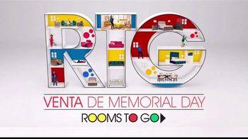 Rooms to Go Venta De Memorial Day TV Spot, 'Tiempo perfecto' Song by Portugal. The Man [Spanish] - Thumbnail 1