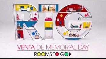 Rooms to Go Venta De Memorial Day TV Spot, 'Tiempo perfecto' Song by Portugal. The Man [Spanish] - Thumbnail 8