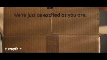 Wayfair TV Spot, 'That's What You Get Shipping' - Thumbnail 3