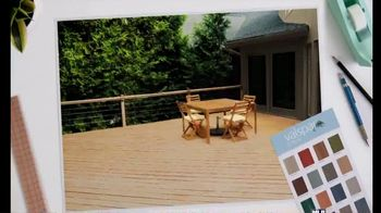 Valspar All-Weather Stain TV Spot, 'Protect Your Deck' - Thumbnail 1